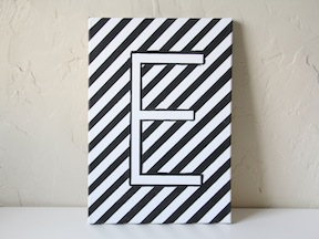 DIY Monogram Art - Step 5