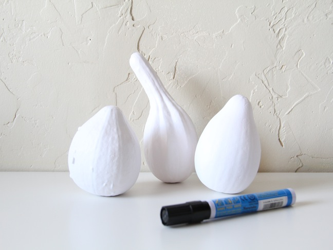 DIY Ghostly Gourds - Step 2
