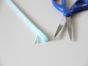 DIY Fringe Pencils - Step 3