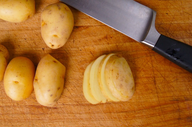matchstick potatoes how to cut