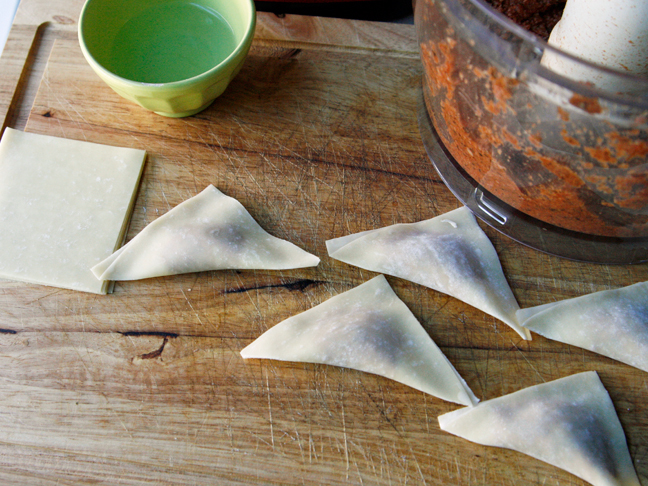 Pizza Wontons - Step 4