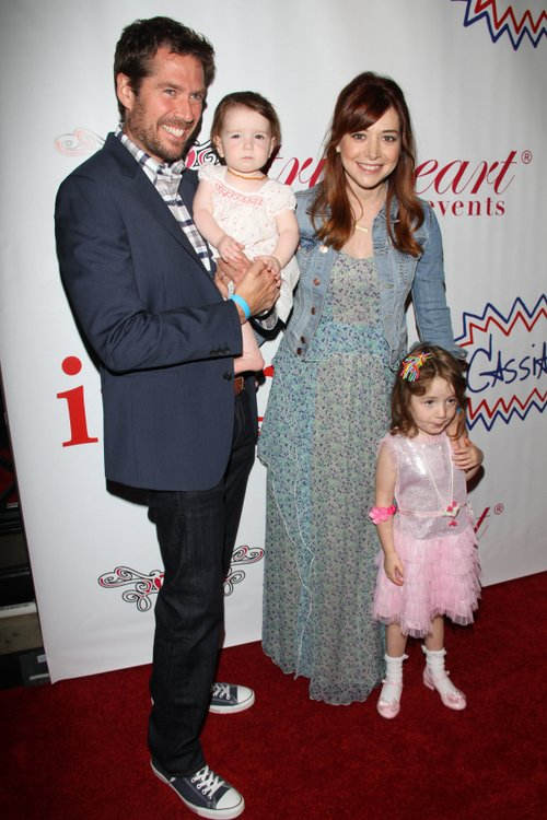 Alyson Hannigan daughters
