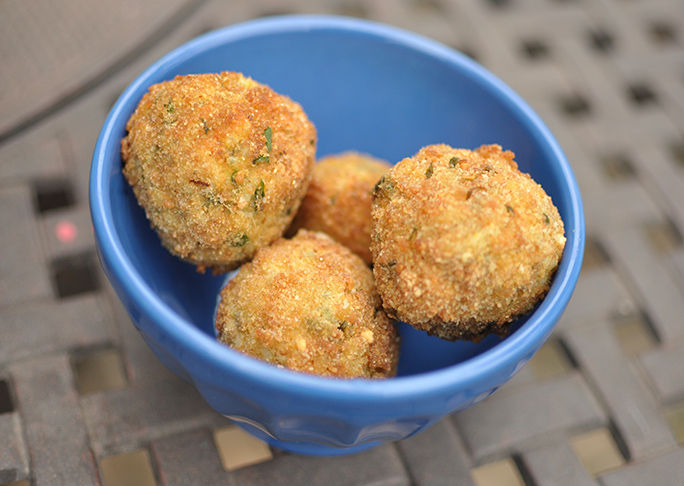 how to cook arancini balls