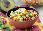 Roasted Corn and Avocado Salsa Recipe