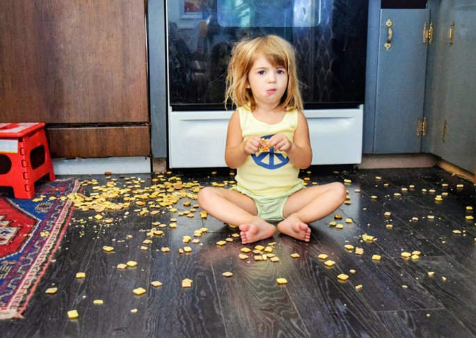 The Five Second Rule: The Secret Gross Thing Mums Do