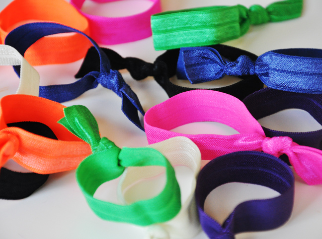 DIY: Elastic Hair Ties