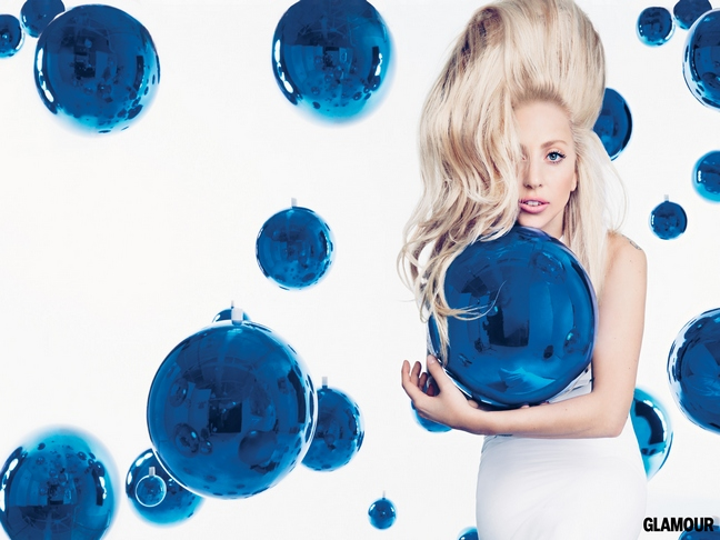 lady gaga blue bubbles