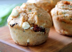 Oven Dried Tomato-Feta Muffins Recipe