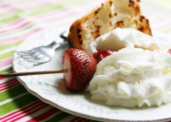 Grilled Strawberry Shortcake Recipe
