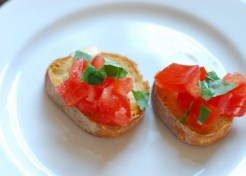 Simple Tomato Bruschetta Recipe