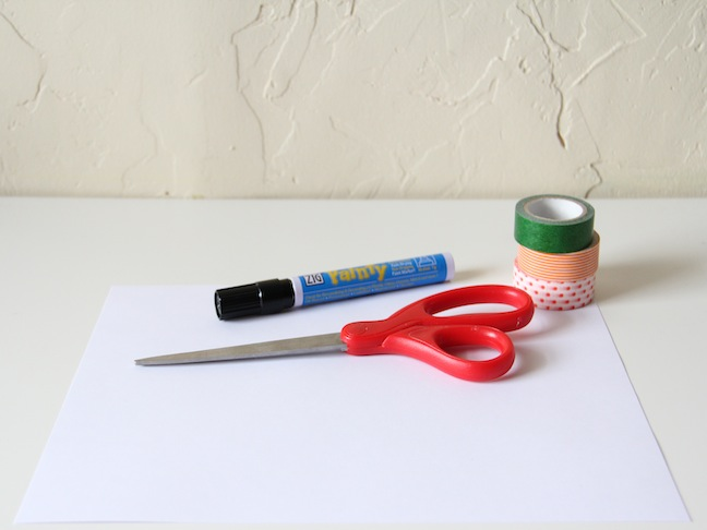 Dry Erase Placemat - Supplies