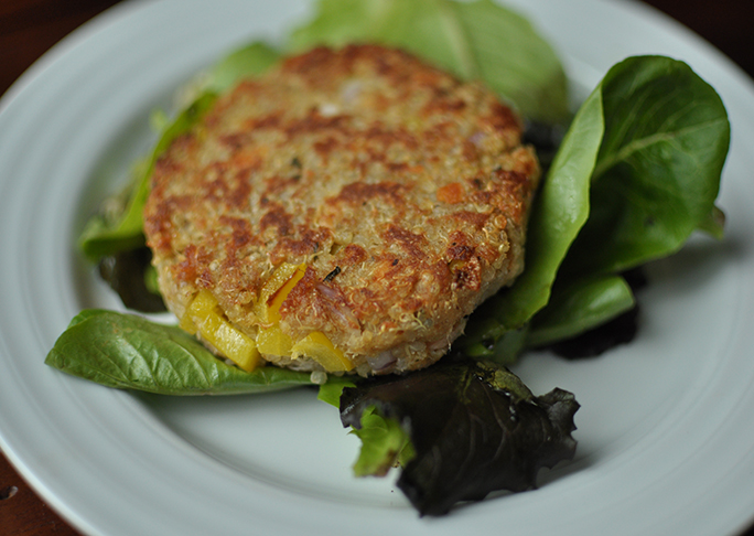 Quinoa Salmon Burger Recipes