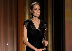 Angelina Jolie Receives Honorary Oscar For Her Humanitarian Work