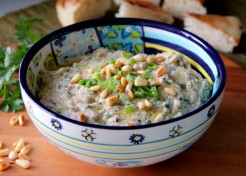 Fire-Roasted Eggplant Dip Recipe (Baba Ganouj)