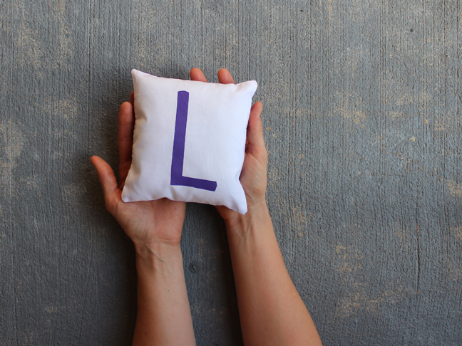 Mini Alphabet Pillows - MAIN 1