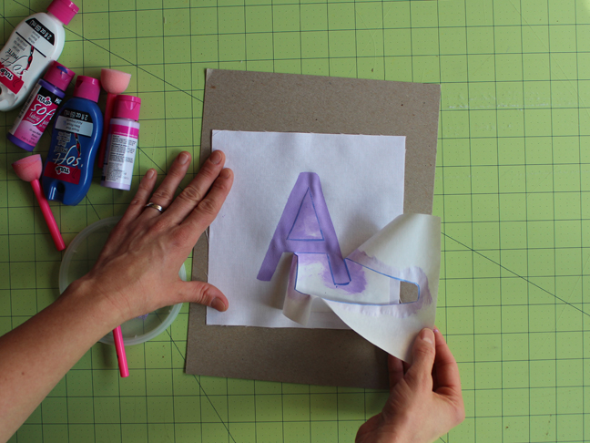 DIY Mini Alphabet Pillows - Step 6