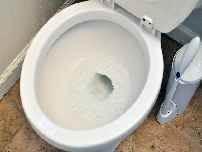 how to clean a toilet without bleach