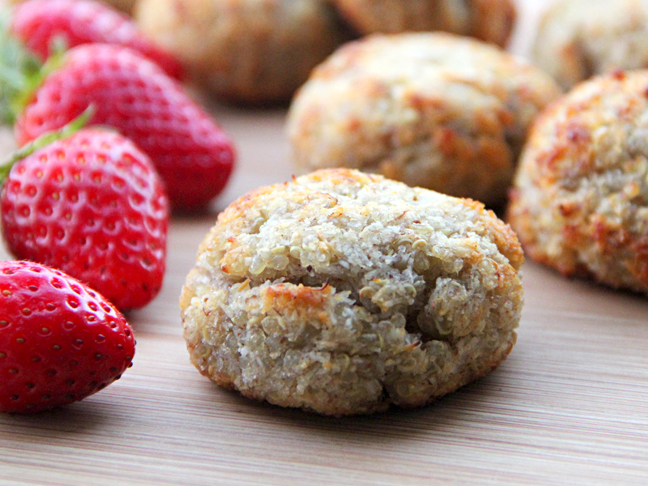 Quinoa-Coconut Breakfast Cookies Recipe