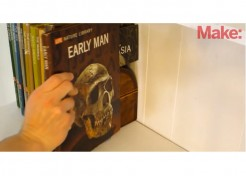 VIDEO: DIY Hacks – How to Hide Large Objects in Books