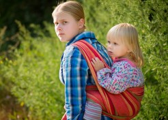 """She'll Never Learn to Walk"" and Other Annoying Myths I've Heard about Babywearing"