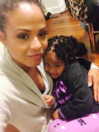 Christina Milian and Daughter