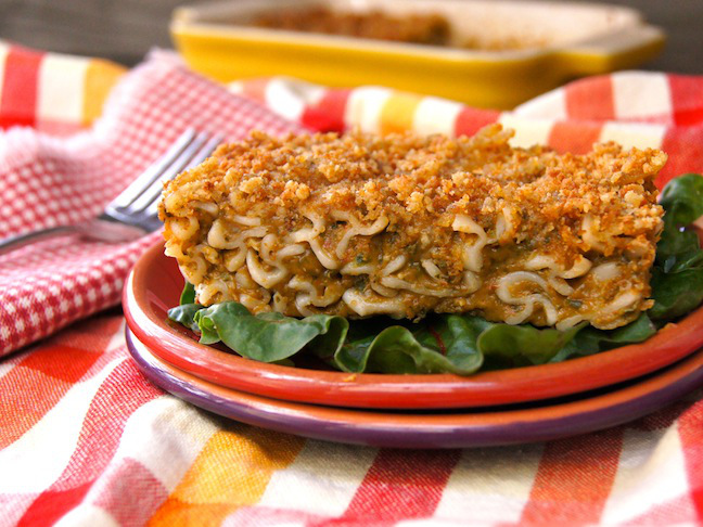 Gluten-Free Baked Spinach-Chard Fusilli and Cheese Recipe