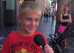 [VIDEO] Jimmy Kimmel Asks Kids: What's the Worst Thing You've Heard Your Mommy Say?