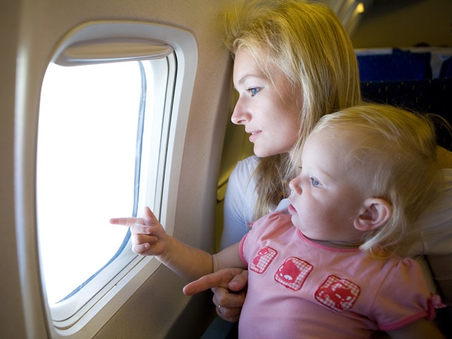 air travel tips for kids