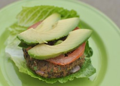 Meatless Monday: Sweet Potato Black Bean Burger Recipe