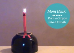 [VIDEO] Life Hacks: How to Use a Crayon as a Candle
