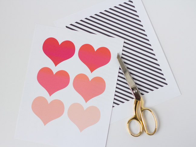 DIY Hidden Hearts