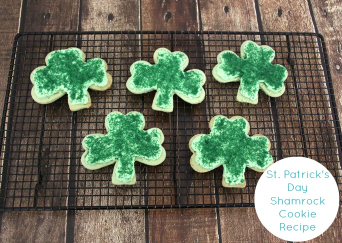 st patricks day cookie recipe final caption