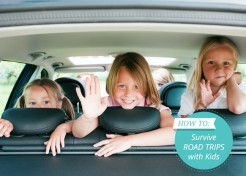 "5 Tips for ""Fight Free"" Road Trips with Kids"