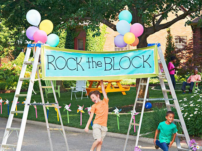 Plan a Block Party