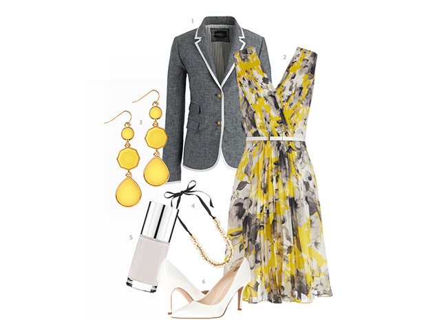yellow-gray-easter-outfit-for-mom