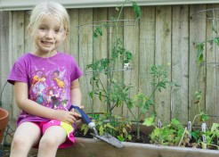 Giving Kids a Green Thumb: Tending to the Garden