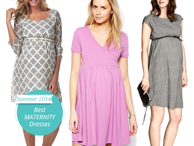 10 Seriously Cute Maternity Dresses For Summer