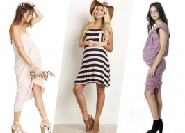 11 Seriously Cute Maternity Dresses For Spring & Summer