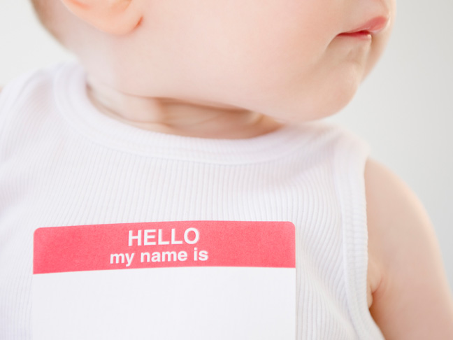 Image result for sharing your child's name