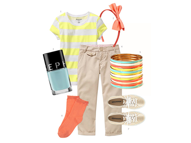stylish-spring-kids-outfit-yellow-khaki