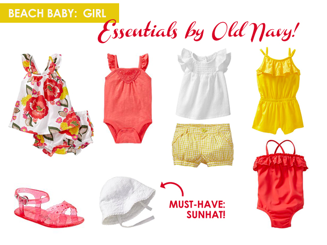 Old Navy Beach Baby 1 - promo