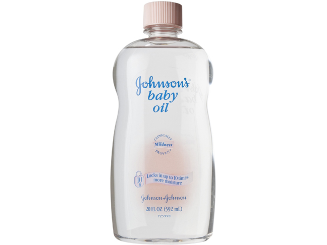 How much does baby oil cost