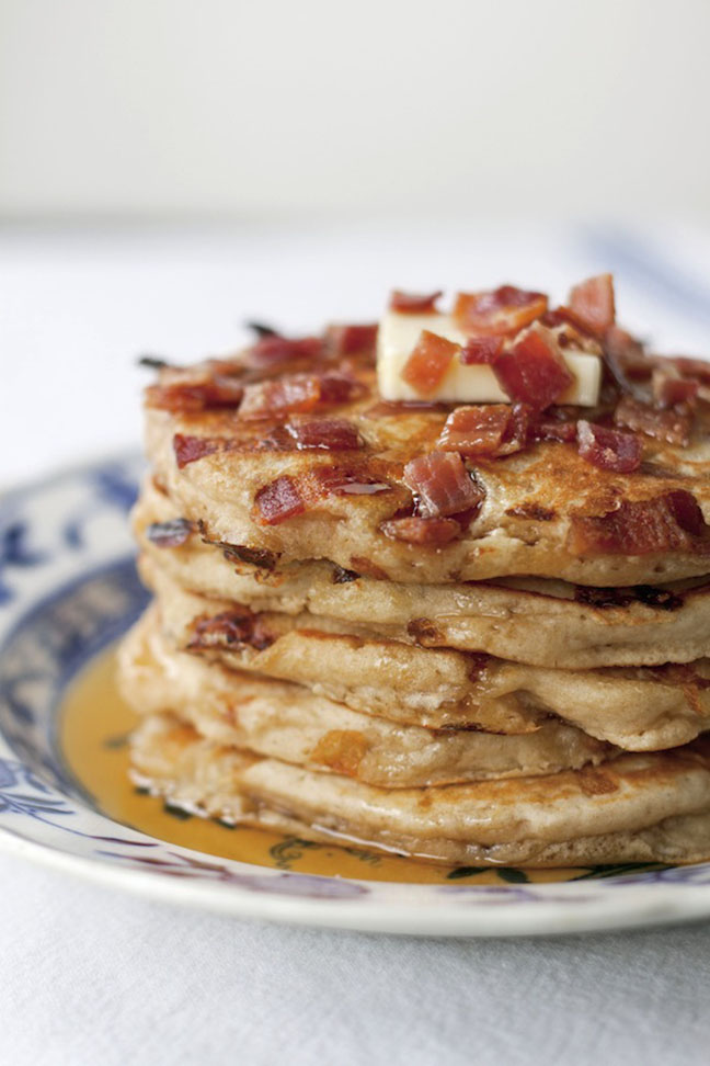 pancake and bacon breakfast - photo #35