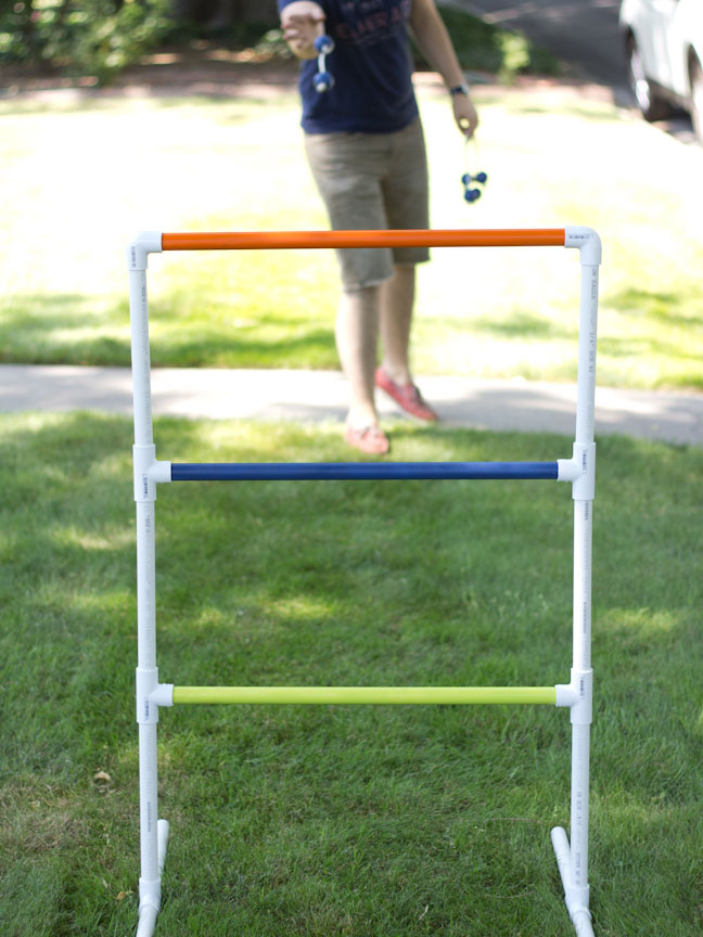 Stand 15 Feet Back From Your Ladder And Toss Bolas Onto The Rungs First Person To 21 Points Wins