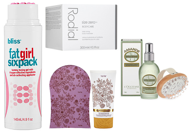 Body-Shaping Beauty Products