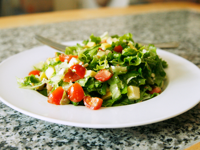 Chopped Salad with Easy Vinaigrette