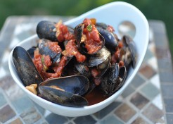 Spicy Grilled Mussels for One Recipe