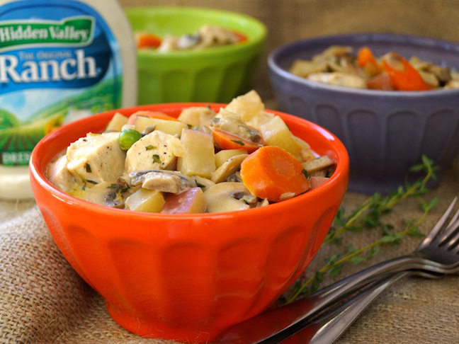 Ranch Chicken-Vegetable Fricassee Recipe