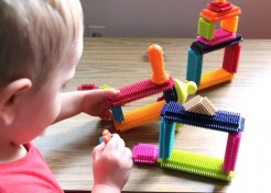 Toy Review: Bristle Blocks are Back!
