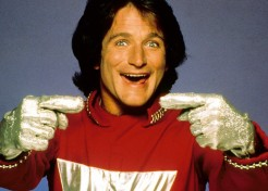 Robin Williams Even Made My Dad Laugh